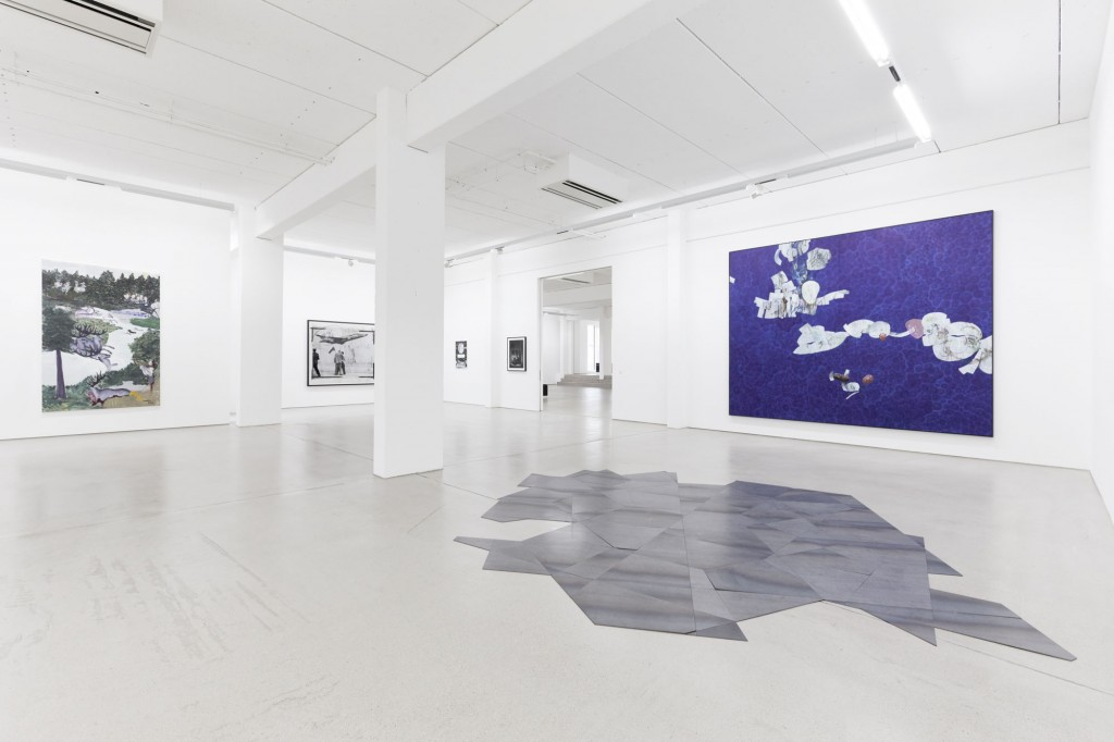 installation view of the exhibition NEW ACQUISITIONS – Hildebrand Collection, 1 February – 7 May 2017, G2 Kunsthalle Leipzig, photo: Dotgain.info, copyright the artists & G2 Kunsthalle Leipzig, VG Bild-Kunst, Bonn 2017 (Ruff, Dittrich, Mühe)