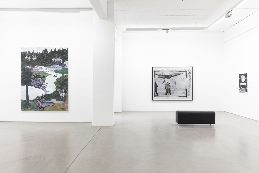installation view of the exhibition NEW ACQUISITIONS – Hildebrand Collection, 1 February – 7 May 2017, G2 Kunsthalle Leipzig, photo: Dotgain.info, copyright the artists & G2 Kunsthalle Leipzig, VG Bild-Kunst, Bonn 2017 (Ruff, Dittrich)