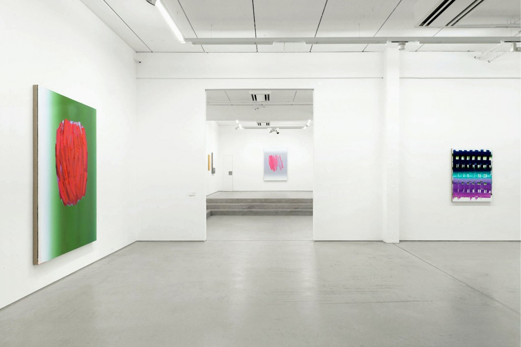 Installation view/ Ausstellungsansicht STRUKTUR with art works by / mit Werken von Peter Krauskopf, G2 Kunsthalle Leipzig, 13 October 2017 – 21 January 2018 © the artist & G2 Kunsthalle Leipzig, photo: Uwe Walter