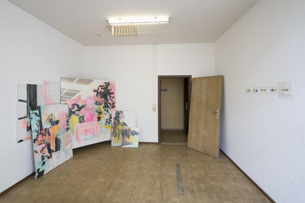 Janja Kosi, DADDY – Klasse Riedel, 21 June – 11 July 2018, G2 Projektraum (G2 Kunsthalle Leipzig), photo:  graysc.de