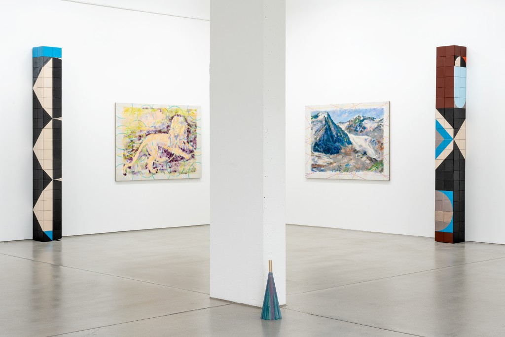 installation view DOUBLE FATURE - Jochen Plogsties / Claudia Wieser, G2 Kunsthalle Leipzig, 11 October 2019 - 12 January 2020, photo: Dotgain.info © the artists & G2 Kunsthalle