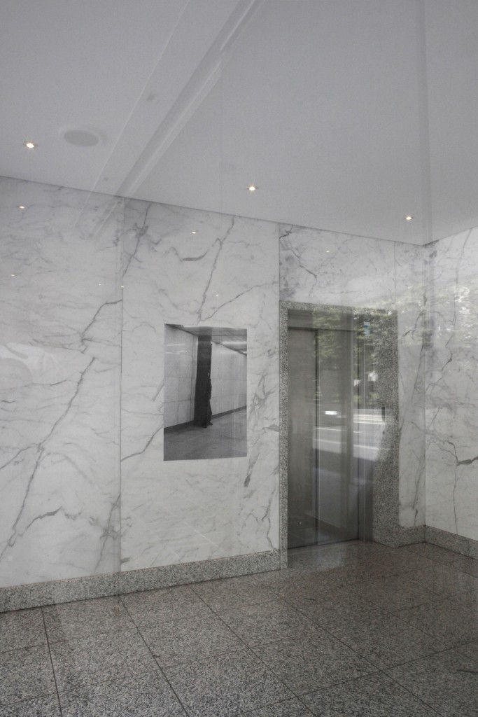 Stephanie Kiwitt, Andreas Schulze – OPEN / THE KIMONO, Foyer Dittrichring 15, 25 May – 14 June 2020 © Andreas Schulze.