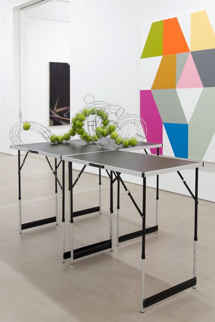 Installation view: Christian Kölbl – EXHIBITION OPENING, G2 Kunsthalle Leipzig, 1.– 7. Juli 202, Foto: Anna Sophie Knobloch © G2 Kunsthalle Leipzig & Christian Kölbl